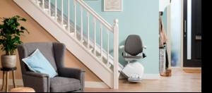 ¿Cómo se instala una silla salvaescaleras en una escalera?